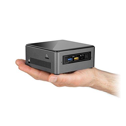 Mini PC - CSL Intel NUC Core i5-7260U - 2 x 2200MHz, 8 GB RAM, 240GB M.2 SSD, 1000GB SATA, Intel® Iris Plus Graphics 640, USB 3.1 Gen 2, WLAN