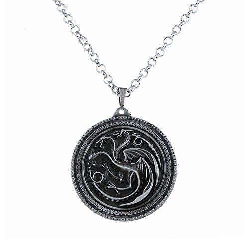 a2f9f40001ea Lureme Juego de Tronos Inspirado Targaryen Colgante Traje Collar (nl005378)