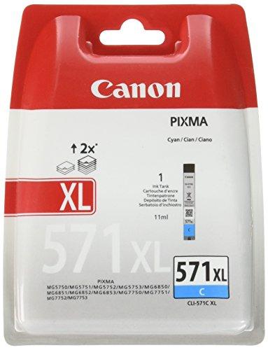 Canon 0332C004 Cartouche d'encre d'origine Cyan