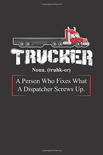 Trucker: Notebook (120 pages, blank with self-made table of contents and page numbers) Blank Trucker Hats