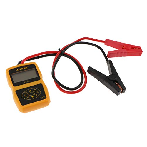 Autool 6V / 12V / 24V Batterietester Analysator Auto Batterie Direkte Gesundheitsprüfer, Anlasssystem Test und Ladesystem Test (BT360)