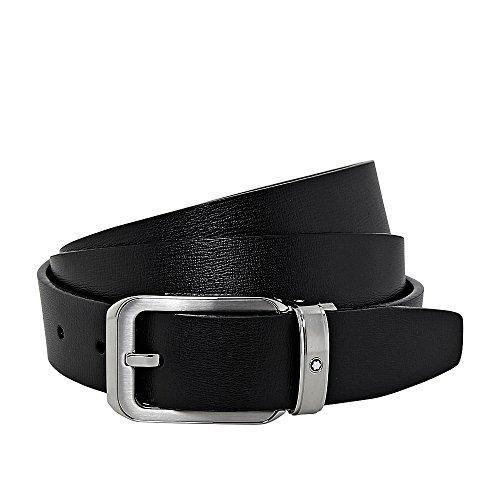 Montblanc Men's Belt black black Medium