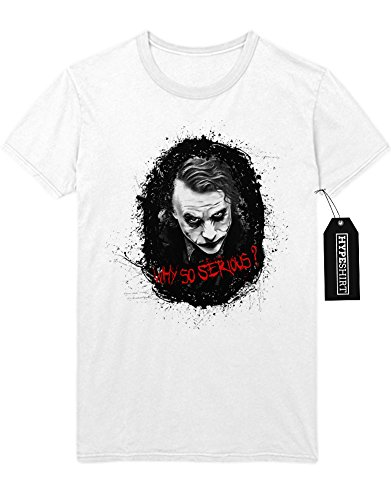T-Shirt The Joker Why So Serously? C997780 Weiß