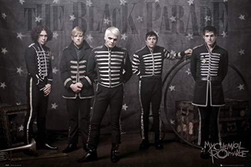GB eye Ltd LP1077 Maxi-Poster My Chemical Romance, Black Parade, 61 x 91,5 cm (My Chemical Parade)
