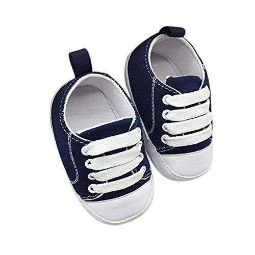Kobay Kinder Schuhe Kleinkind-Schuhe Anti-Rutsch-weiche Feste Segeltuch-Schuhe