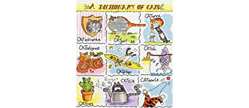Bothy Threads Dictionary of Cats Kit