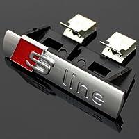 Original Audi Pieza de Repuesto Audi A4 S-Line Inscripción / Clip Para Parrilla de Refrigeración
