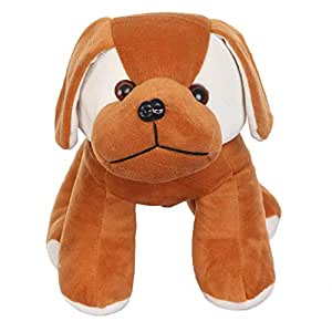 Deals India Brown Standing Cute Lovable Dog Soft Toy- 20 cm ,Brown
