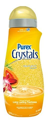 Purex Crystals Laundry Enhancer, Tropical Splash, 28 Ounce 32 Loads by Purex