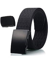 Cinturón Táctico - Durable y Cómodo y Totalmente Ajustable - Cinturón Militar de Nylon Militar Casual
