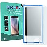 2x Mikvon Clear Displayschutzfolie für Apple iPod Nano 7G Schutz Folie - Original Verpackung mit Zubehör
