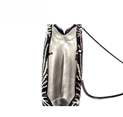 Dame Abendtasche Luxus Kleid Diamanten Handtasche OneColor