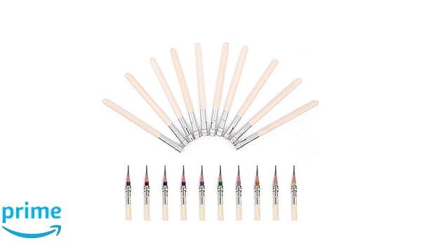 10/pezzi di metallo singolo testa legno matita Extender Lengthener Holder crayon Extender per studenti e disegno amante
