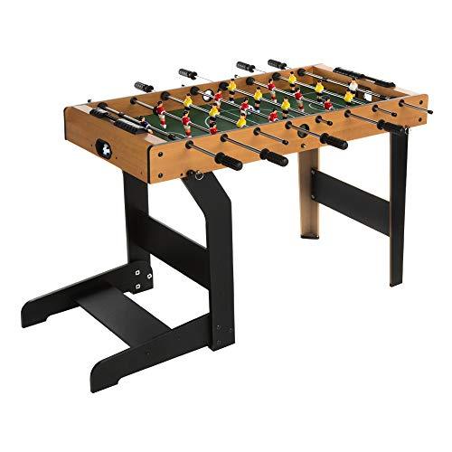 ColorBaby- Futbolín de madera plegable CBgames, 101 x 51 x 68 cm (85332)