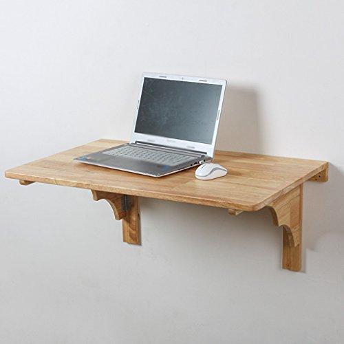SUBBYE Table À Manger Murale Table À Manger en Bois Massif Bureau D'ordinateur Table À Manger Pliante Murale (Taille : 60cm*40cm)