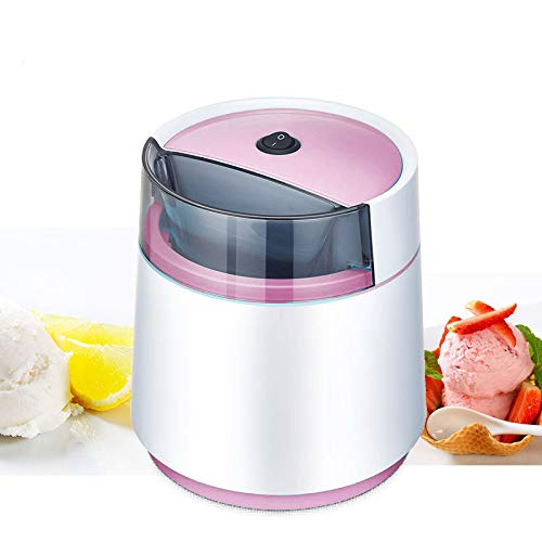 Myonly mini automatico fai da te creatore di gelato frappè gelato macchina, fresco bosco dessert sorbetto congelatore milkshake blender,rosa
