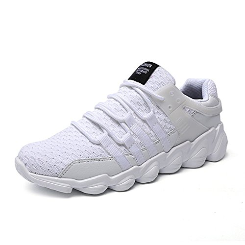 IIIIS-F Hombres Zapatillas de Deporte Casual Lace Up Zapatos Zapatos de Gimnasia Para Caminar de Peso Ligero