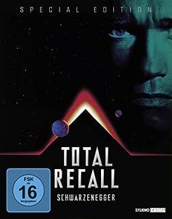 Total Recall - Totale Erinnerung (Jubiläums Edition/Steelbook) [Blu-ray] (Gekürzte Fassung) [Special Edition]