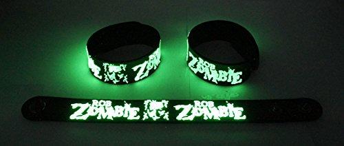 ROB Zombie nuovo. Brillano al buio Bracciale rze 126G