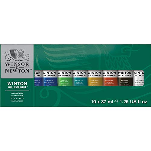 Winsor & Newton Winton Oil Assortimento 10 Tubi 37 ml Assortiti
