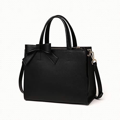 YANFEI PU-Handtasche weibliche einfache Quadrat einfache Mode eine Schulter Bogen Umhängetasche...