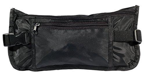 Pochette invisible pour documents important à mettre sous les vêtements - Noir