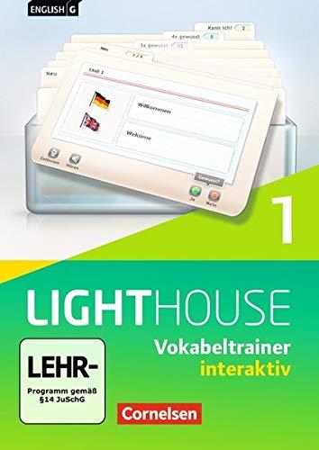 English G Lighthouse - Allgemeine Ausgabe / Band 1: 5. Schuljahr - Vokabeltrainer interaktiv: CD-ROM