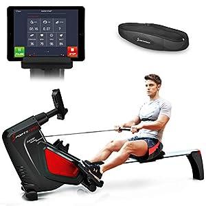 Sportstech Rudergerät RSX500 mit Smartphone steuerbar - Pulsgurt im Wert von...