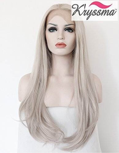 kryssma-realistic-wigs-for-women-light-grey-natural-straight-long-synthetic-hair-heat-safe-glueless-