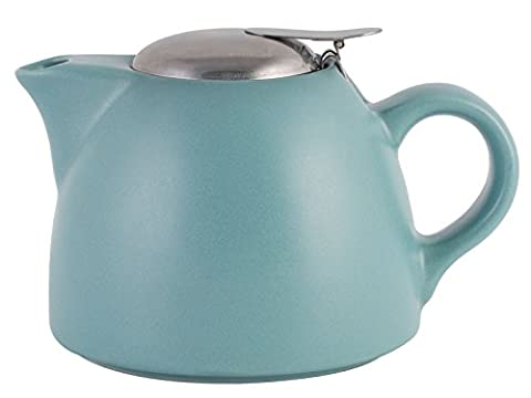 La Cafetiere Barcelona Teapot with Infuser, 1300 ml - Retro Blue