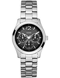 Guess Damen-Armbanduhr Analog Quarz Edelstahl W95101L1
