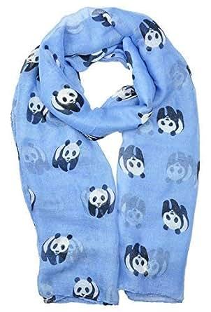 Echarpe Femme L/éger Longues Infinity Foulards Animaux Panda Imprimer /Écharpe Grande Douce Plage Cr/ème Solaire Ch/âle Wraps Foulard Voile