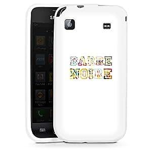 Samsung Galaxy S Silikon Case Hülle weiß - Team Barre Noire