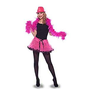 Folat 21921-Sexy Tutu Disfraz, Color Rosa