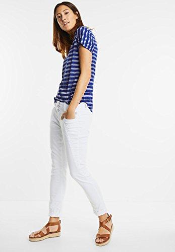Street One Damen Streifen Shirt Marinda lapis blue (blau)