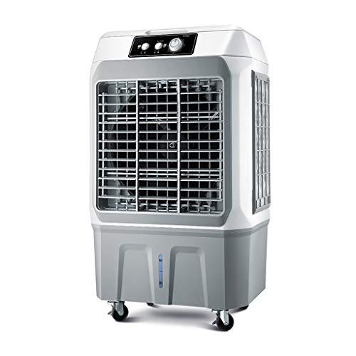 Super Wind leise Kühlung Industrie 3-in-1 mechanische Klimaanlage Lüfter mit Lüfter Luftbefeuchter und Luftreiniger Funktion, 3 Lüftergeschwindigkeiten mit Oszillation, Spannung 220V, Wassertank 27L