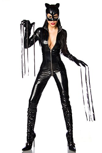 (Catwoman-Kostüm, Größe:XXL)
