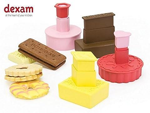 Dexam Classic British Biscuit Cookie Cutters - Set of 4