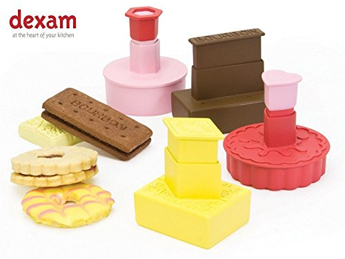 Dexam Classic British Biscuit Cookie Cutters - Set of 4 - 17851061