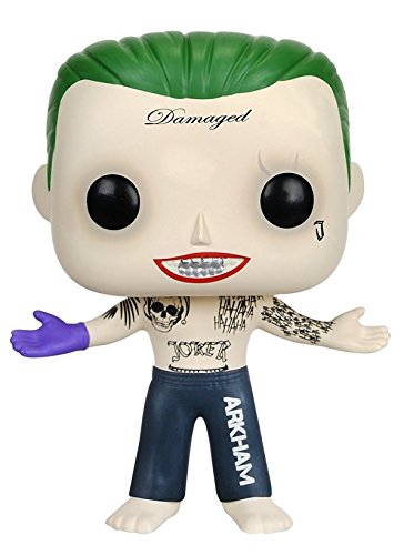 funko pop suicide squad FunKo 8659 No Actionfigur Suicide Squad: Joker Shirtless