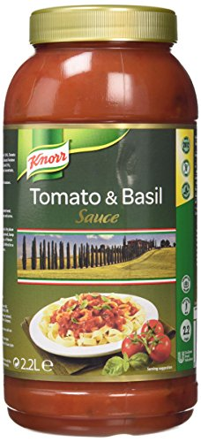 Knorr Tomato and Basil Ready to Use Sauce, 2.2 Litre