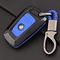 ontto fit for BMW Key Fob Cover Car Key Shell Silicone case Keychain Remote Key Protector fit for BMW 1 3 4 5 6 7 Series and X3 X4 M2 M3 M4 M5 M6 A Blue bmsl0003