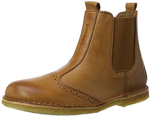 Bisgaard Unisex-Kinder Stiefelette Chelsea Boots, Braun (500 Cognac), 37 EU