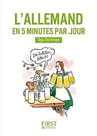 L'Allemand en 5 minutes par jour par Olga Dischinger
