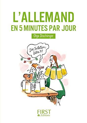 Petit livre de - L'Allemand en 5 minutes par jour
