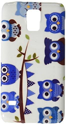 Vector Kollektion von Boy Baby Dusche Motto Eulen und Zweige Handy Tasche Cover Case Samsung S5
