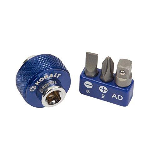 Kobalt 337335 Fingerbit-Schraubendreher-Set, magnetisch, 1/4 Zoll Antrieb, 4-teilig
