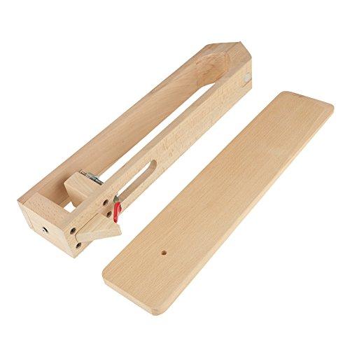 Walfront Leder nähen Stitching Holz Halteclip 43cm Mit Magnet Schnürung Pony-Pferdeklammer Nähkloben Nähpferd Clamp Tabelle -