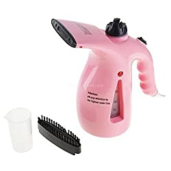 Jannat Electric Garment Facial Steamer Brush for Ironing Clothes Portable Multifunction Pots Steam Face