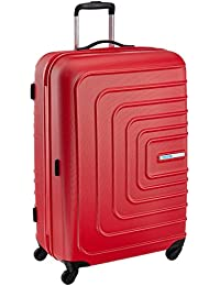 American Tourister Sunset Square ABS 77 cms Red Hard Sided Suitcase (AMT SUNSET SQUARE SP77 RED)